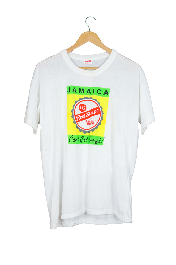 792dba4867 Jamaica Red Stripe Beer T-Shirt – Percy's Vintage and Collectibles