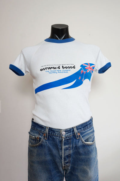 1981-1982 Whitbread Yacht Race Ringer T-Shirt