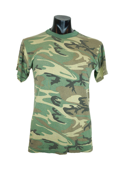 Vintage Army Camo Ringer T-Shirt