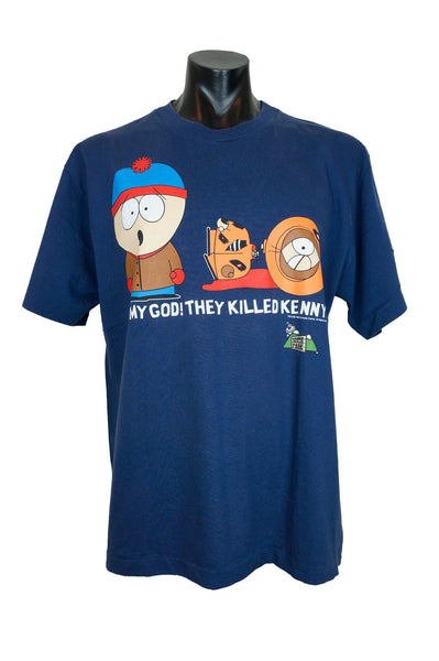 "1998 South Park ""Oh My God, They Killed Kenny"" T-Shirt"