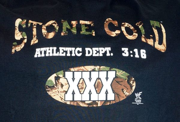 1998 WWF Stone Cold Athletic Dept T-Shirt