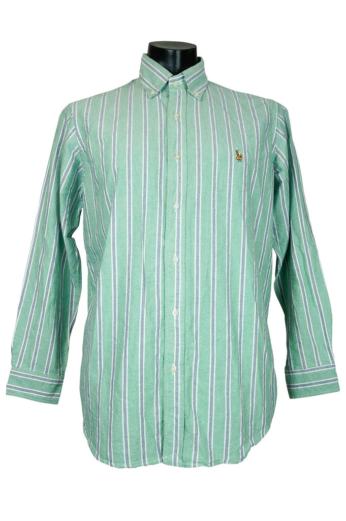 78eae8705 Ralph Lauren Pastel Striped Buttondown – Percy s Vintage and Collectibles