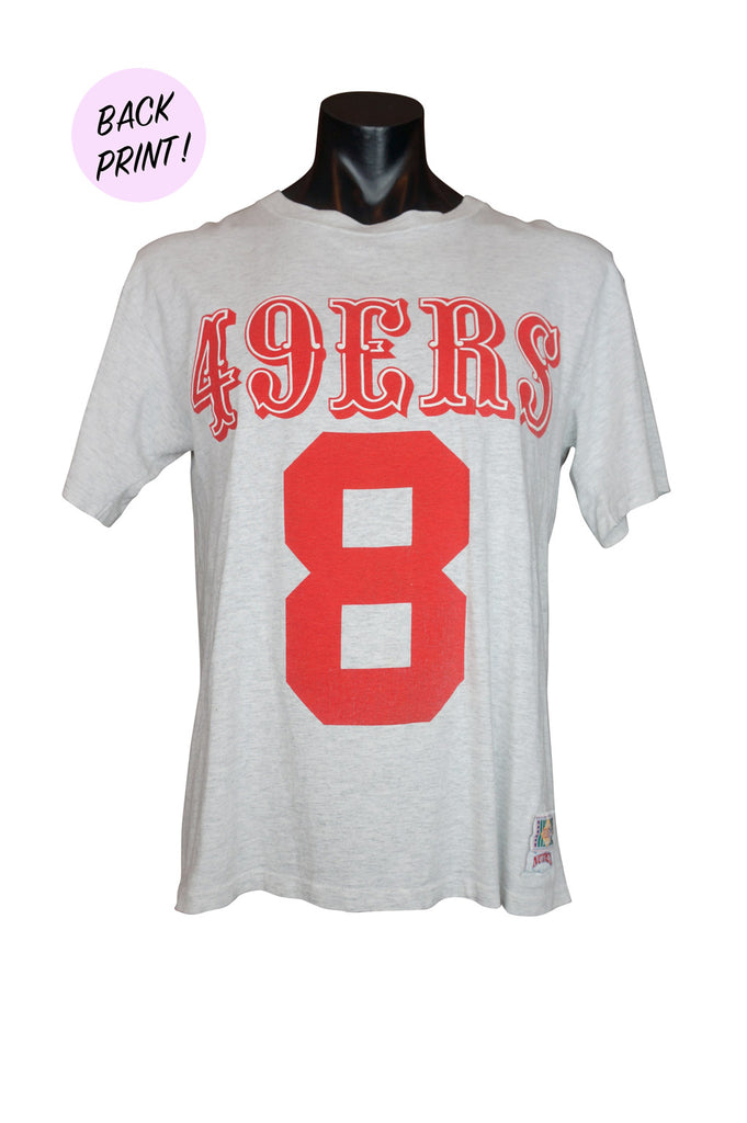 90s San Francisco 49ers Steve Young NFL T-Shirt
