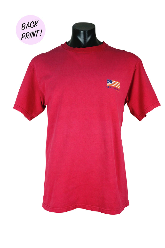 7df08542 90s Champion USA Flag T-Shirt – Percy's Vintage and Collectibles
