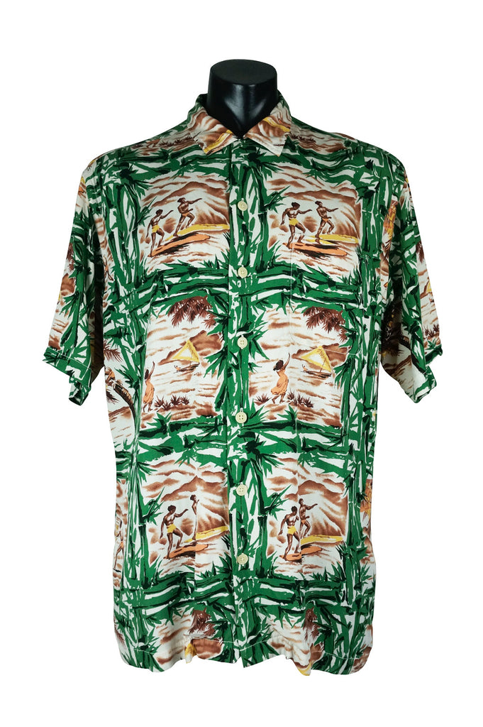 d0fbc2018 Ralph Lauren Polo Sport Aloha Shirt – Percy's Vintage and Collectibles