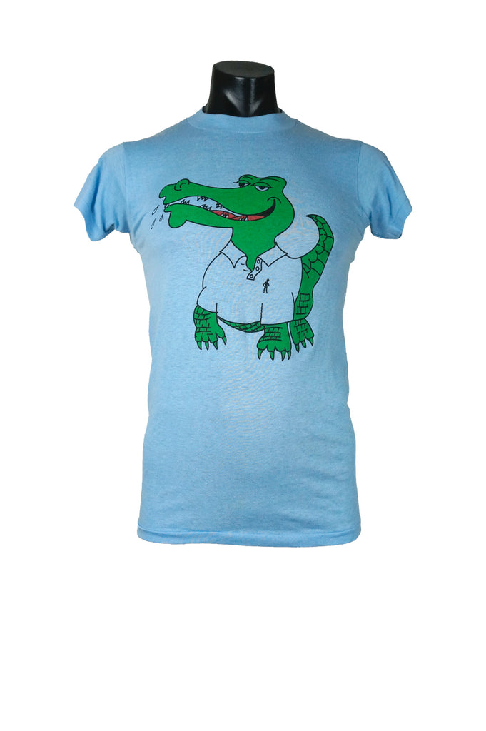 0272db81 1980s Crocodile T-Shirt – Percy's Vintage and Collectibles