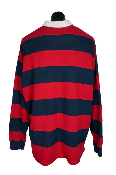 Polo by Ralph Lauren Red + Navy Rugby Shirt