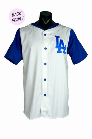 1990s Apex One Los Angeles Dodgers MLB Baseball Jersey