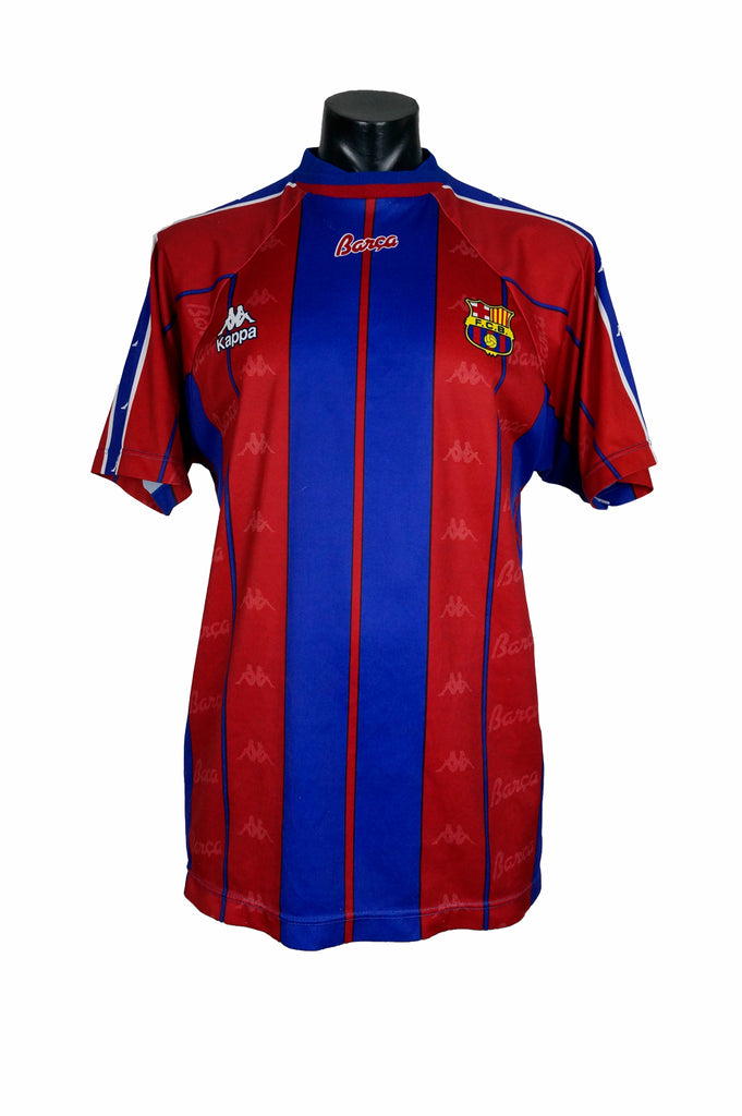 b13fd20a5f 1997 Kappa Barcelona Football Jersey – Percy's Vintage and Collectibles