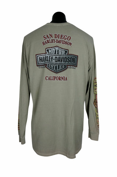 2011 Harley Davidson California Long Sleeve T-Shirt