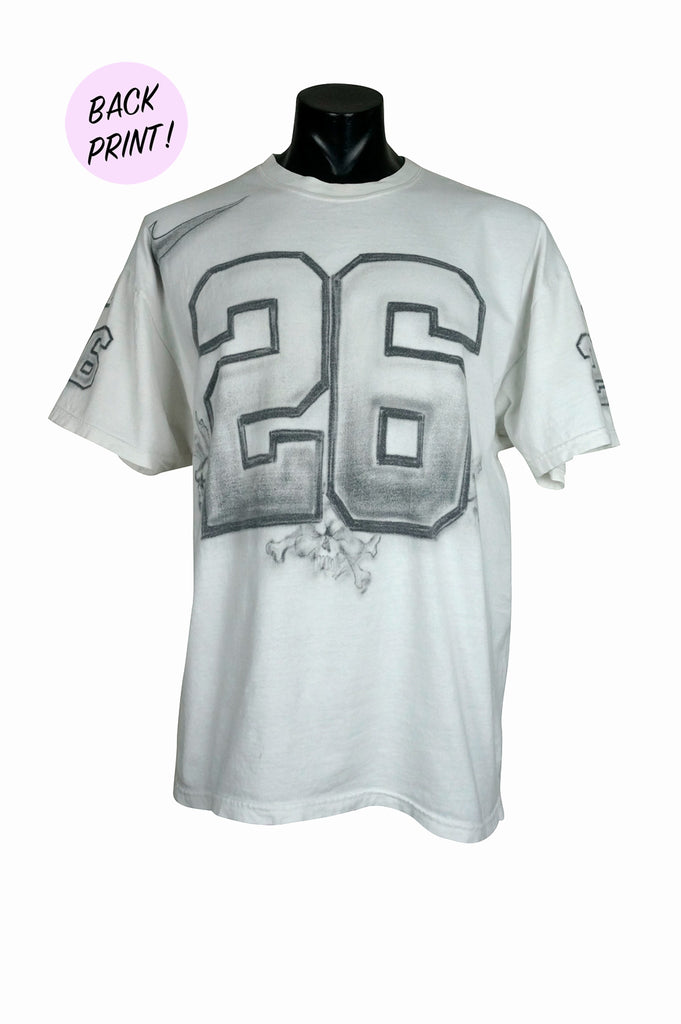 c8049b16 2000 Oakland Raiders Airbrushed T-Shirt