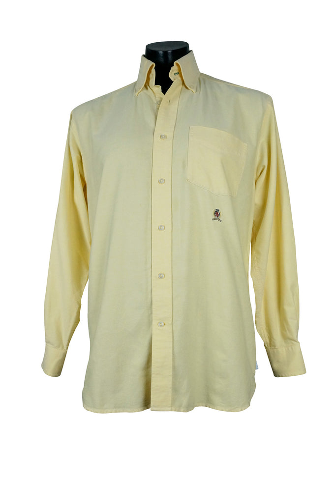 1990s Tommy Hilfiger Lemon Shirt