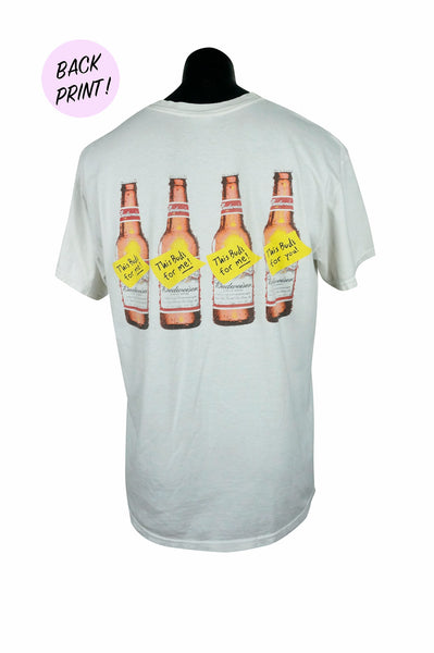 1990s This Bud's For You T-Shirt