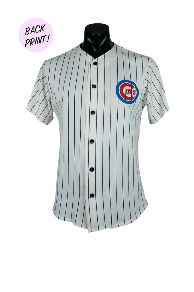 1990s Chicago Cubs MLB Buttondown