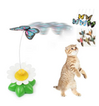 ROTATING BUTTERFLY CAT TOY - CoolstuffCenter