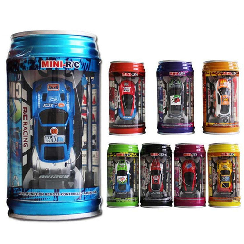 Coke Can Mini Speed RC Radio Remote Control Micro Racing Car - CoolstuffCenter