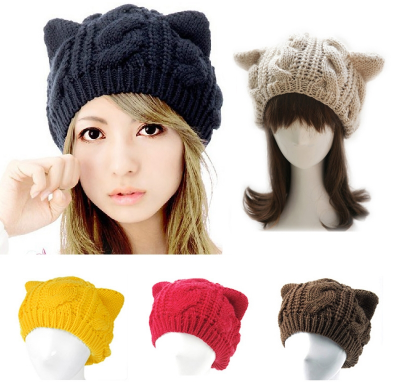 Cat Ears Knitted Beanie FREE Offer - CoolstuffCenter
