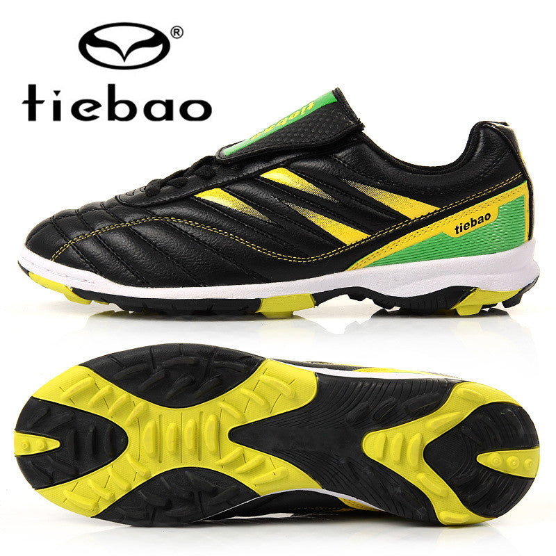 TIEBAO Professional Outdoor Football Boots Athletic Training Soccer Shoes Men Women TF Turf Rubber Sole Shoes - CoolstuffCenter