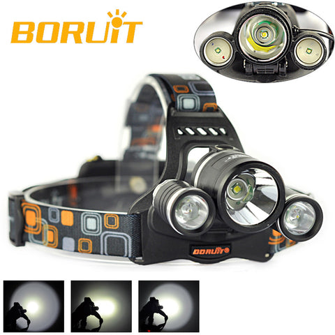 LED Head Light 4 Modes Headlamp Lantern Camping Hunting Flashlight Torch(Only Lamp) - CoolstuffCenter