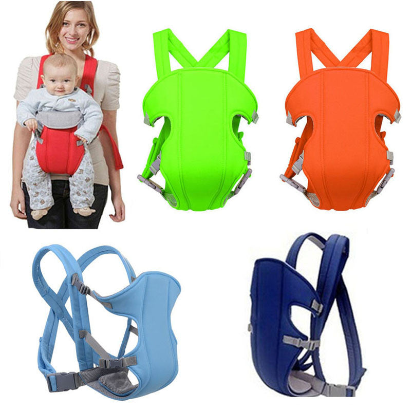 Baby Carriers Breathable Multifunctional Front Facing Infant Comfortable Sling Backpack Pouch Wrap Baby Kangroo Belt - CoolstuffCenter