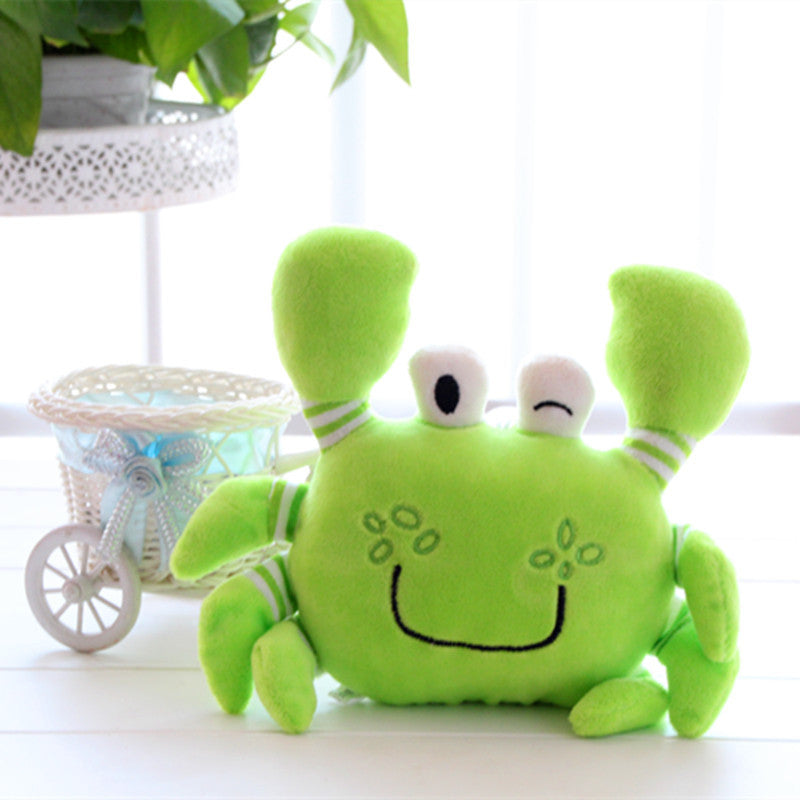 Random Color Crab Plush Toys Soft Stuffed Animals Doll with Baby&Kids Kawaii Carton Stuffed Brinquedos Children Birthday Gifts - CoolstuffCenter