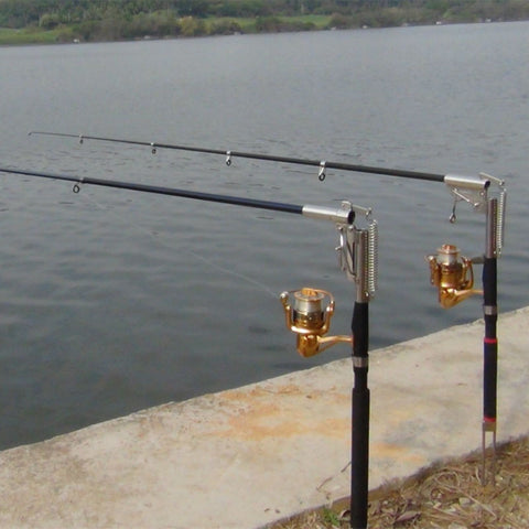Automatic Fishing Rod (Without Reel) Sea River Lake Pool Fishing Pole with Stainless Steel Hardware - CoolstuffCenter