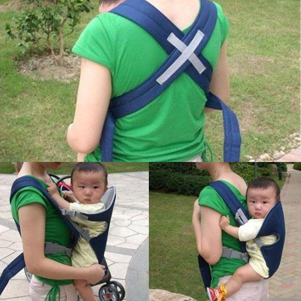 High quality Adjustable Breathable 3D Mesh Baby Wrap Carrier Baby Sling Easy to put on and take off - CoolstuffCenter