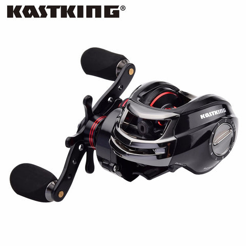 Bait Casting Fishing Reel Magnetic and Centrifugal Dual Brake - CoolstuffCenter