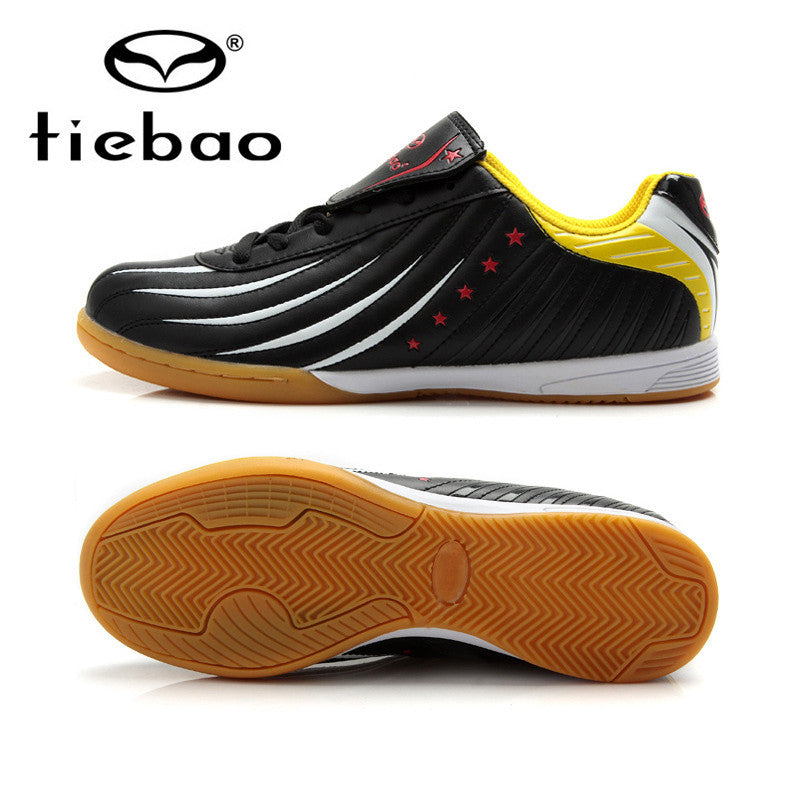 TIEBAO Professional Indoor Soccer Shoes IN & IC Sole Football Boots Sneakers Men Women Athletic Training Shoes chuteira futsal - CoolstuffCenter