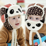 Lovely Panda Hats Baby Caps Kids Aviator Hat Bomber Winter Cap Children Masks Warm All For Children Clothing And Accessories - CoolstuffCenter