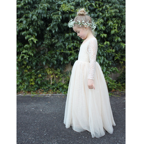 Willow dress - champagne