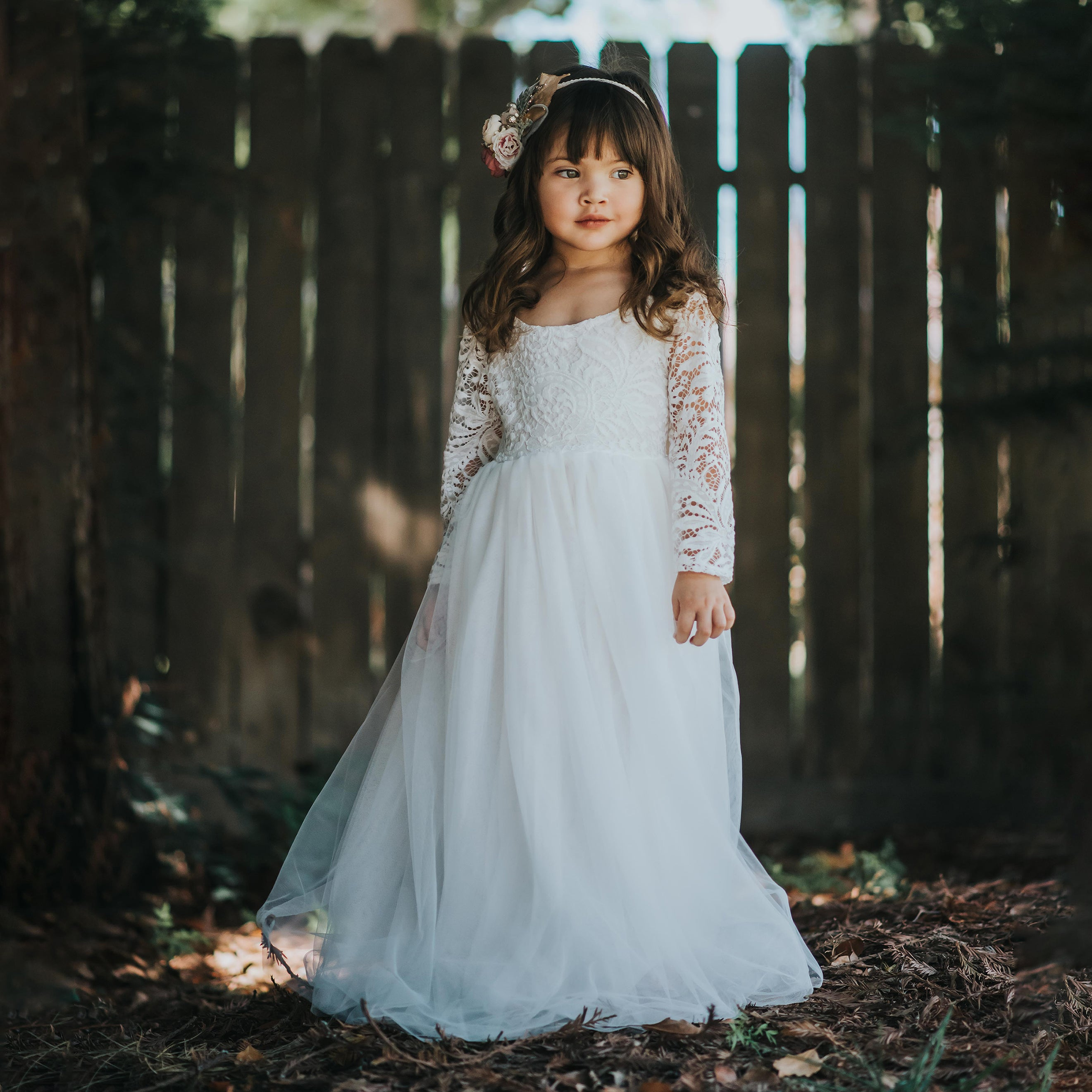 Willow dress - ivory