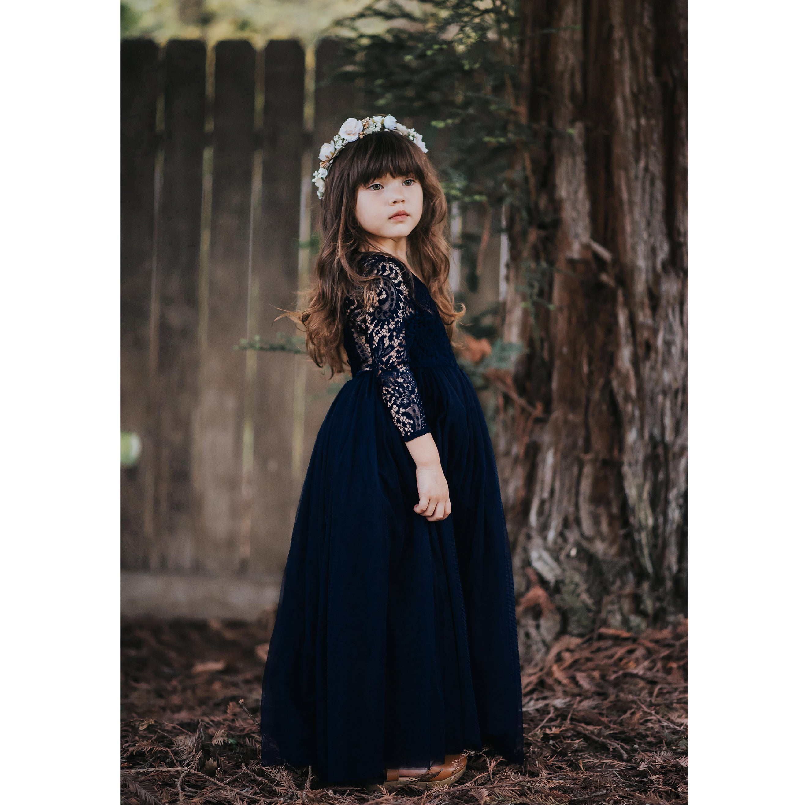 Willow dress - navy