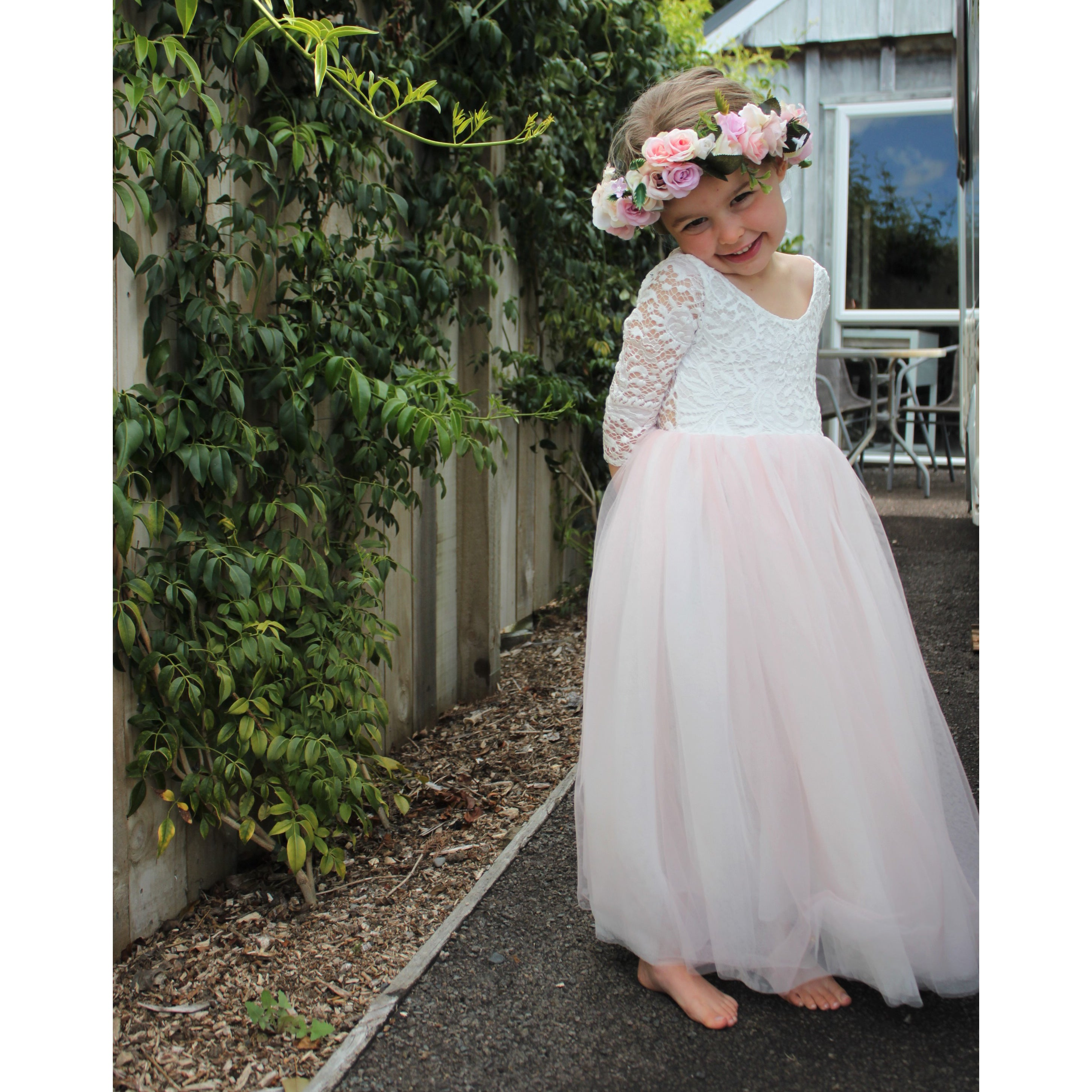 Willow dress - blush