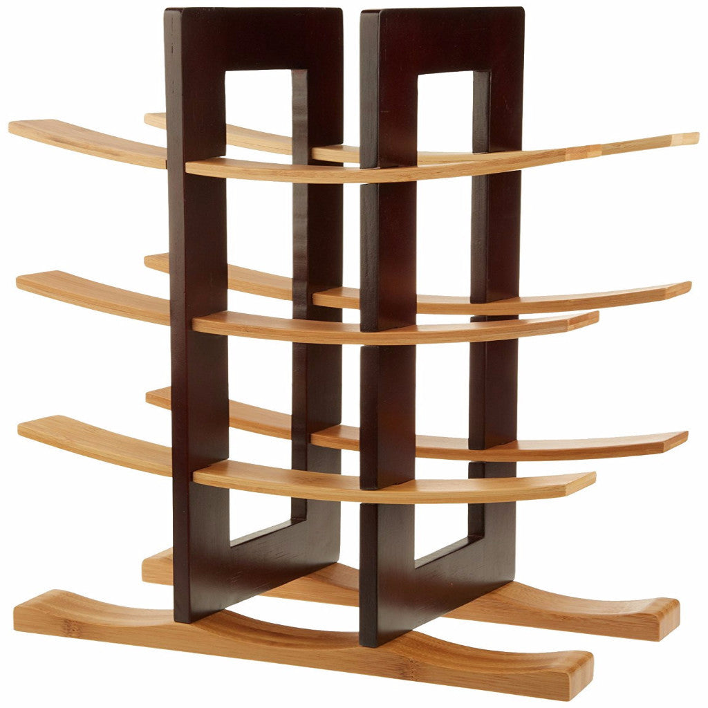 Anchor Bamboo Wine Rack - Espresso Finish
