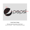 Pepsi cola stencil for wall art craft DIY decor