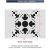 Wall Stencils Tile Stencil for Home Makeover DIY Decor Reusable Template V0032