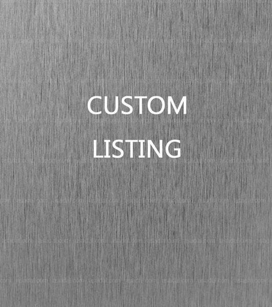 Custom listing for Sabine Dillbohner