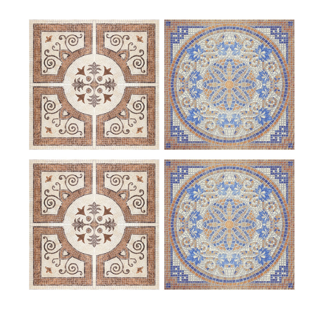 Decorative Tiles Stickers Lisboa Set Of 4 Tiles Tile Decals Art For Walls Kitchen Backsplash Bathroom Accent Kitchen