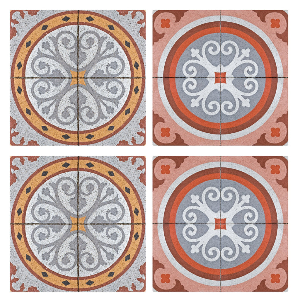 paving pattern tiles stickers set of 4 tiles tile decals art paving pattern tiles stickers set of 4 tiles tile decals art for walls kitchen backsplash bathroom accent kitchen