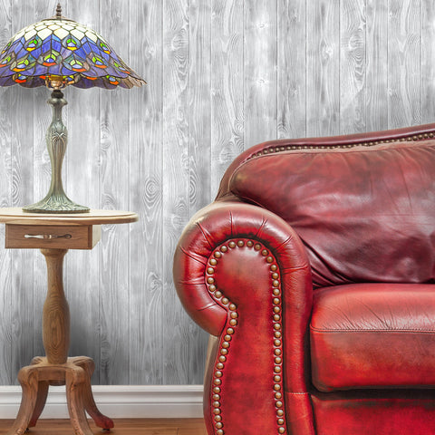 Wood Pattern 02 Peel & Stick Repositionable Fabric Wallpaper