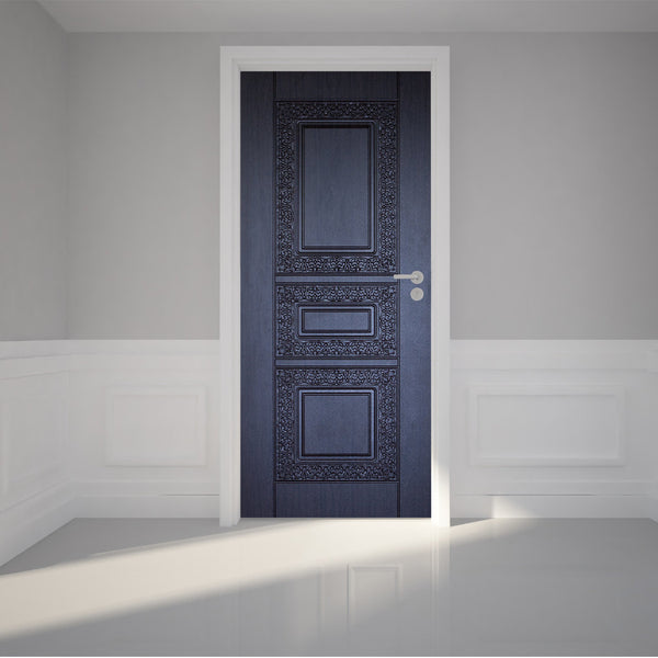 "Door Wall Sticker Front Door - Self Adhesive Peel & Stick Repositionable Fabric Mural 31""w x 79""h (80 x 200cm)"