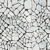 Stone Pebble Pattern Romane Self adhesive Peel & Stick Repositionable Fabric Wallpaper