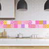 Tile decals Murcia - Set of 16 - Self adhesive Peel and Stick Tile Stickers