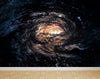 Wall Mural Spiral galaxy in space, Peel and Stick Repositionable Fabric Wallpaper