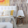Wood Plank texture Tamarack Peel & Stick Fabric Wallpaper