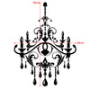 Chandelier Vinyl Wall decal for Home Decor Art Graphics