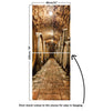 Door Mural Oak barrels in wine cellar - Door Skin, Cover, Wrap