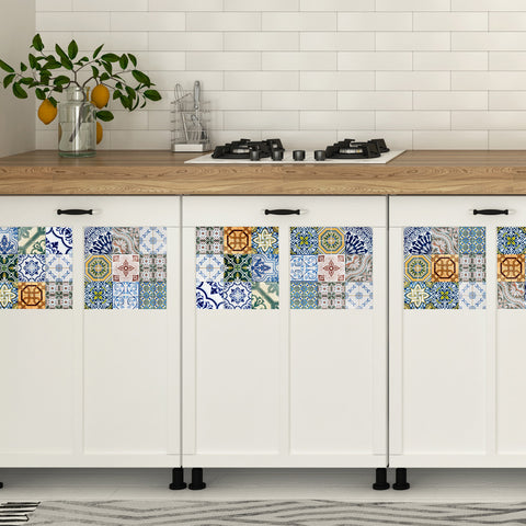 Portugal Tiles Stickers Evora - Set of 16