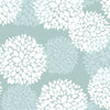 Cute Floral Pattern Aimee Peel & Stick Repositionable Fabric Wallpaper
